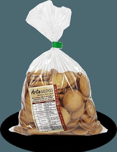 bolsa de galletas ArteSANAS